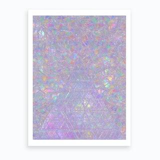 Iridescent I Art Print