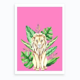 In the Jungle I Art Print