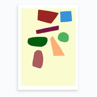 60s Home II Art Print