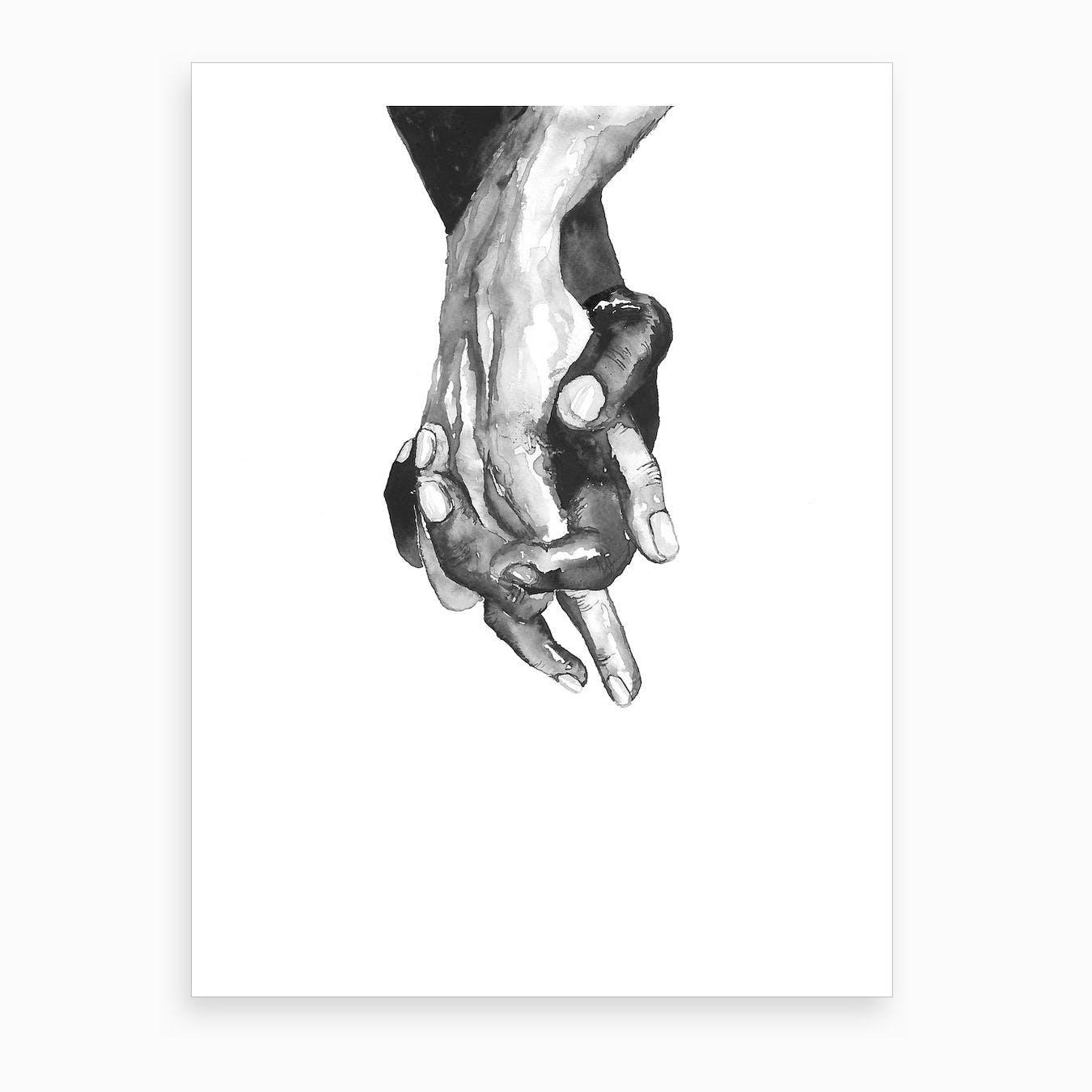 Hands Print