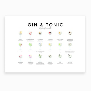 Gin and Tonic Landscape Art Print