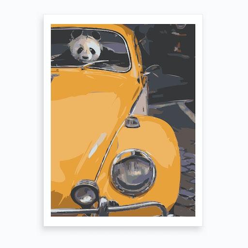 Panda Fusca Art Print
