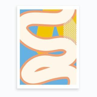 Serpent I Art Print