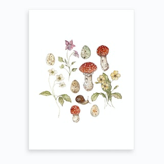 Summer Meadow Collection Art Print