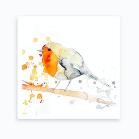 Robin Bird 2 Art Print