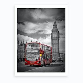 London Street Scene Art Print