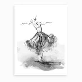 Dancer 3 Art Print