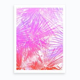 Neon Jungle Art Print