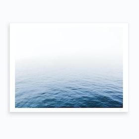 Blue Ocean II Art Print