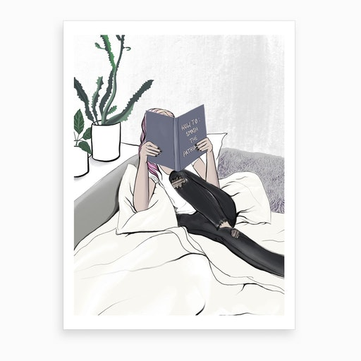 Weekend Plans Art Print