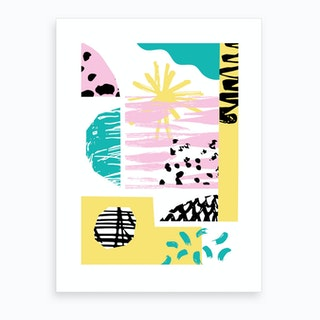 Sunny Beaches Art Print