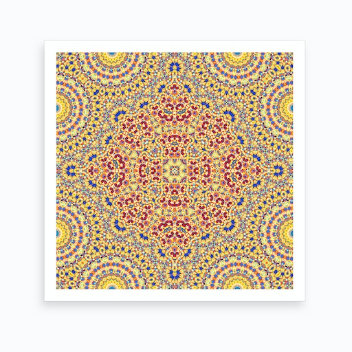 Abstract Mandala II Art Print