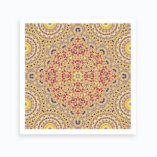 Abstract Mandala II Art Print