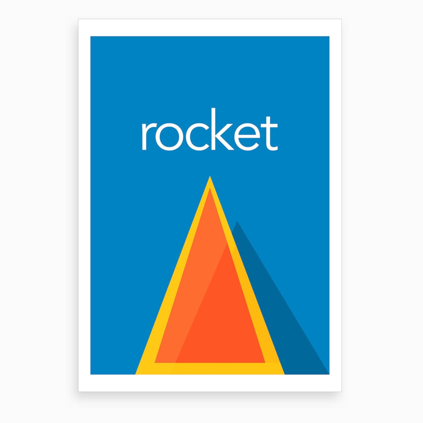 Rocket I Art Print