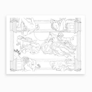 Sistine Chapel Art Print