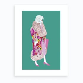 London Fashion Week III Art Print