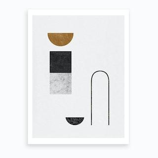 Abstract Geometric Iv Art Print
