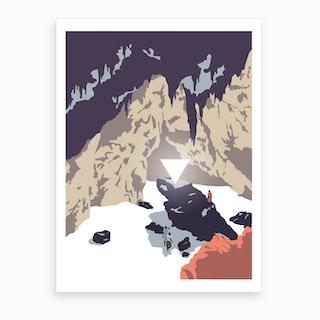 Les Explorateurs 2 Art Print