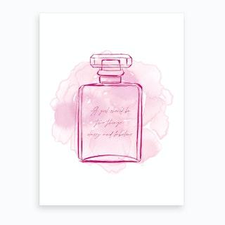 Perfume Bloom Art Print