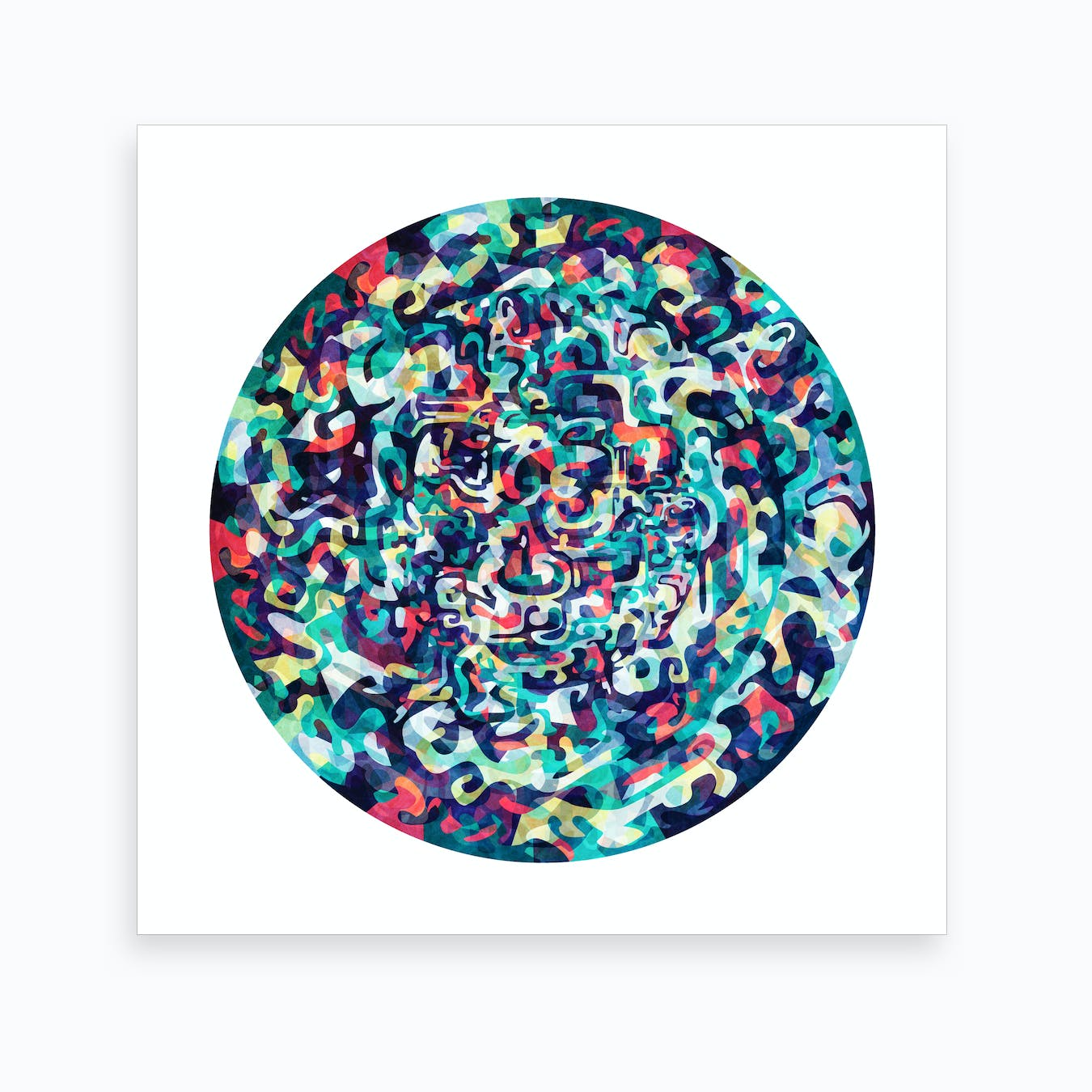 I Love Everything About You Art Print