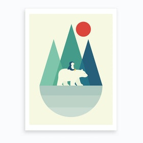 Bear You  Art Print