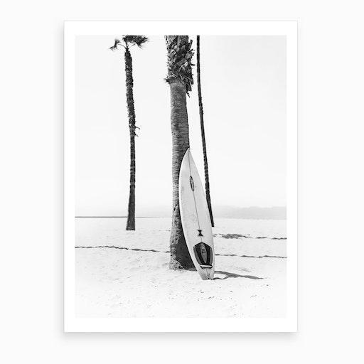Surf Bw Art Print