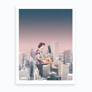The Hustle Art Print