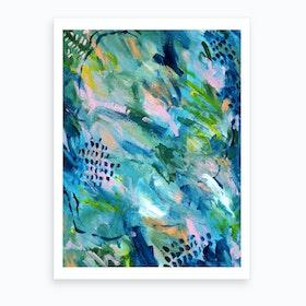 Greenery Clutter 2 Art Print