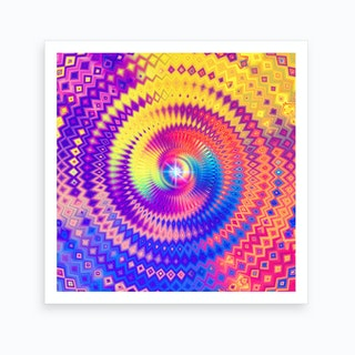 The Power of Color II Art Print
