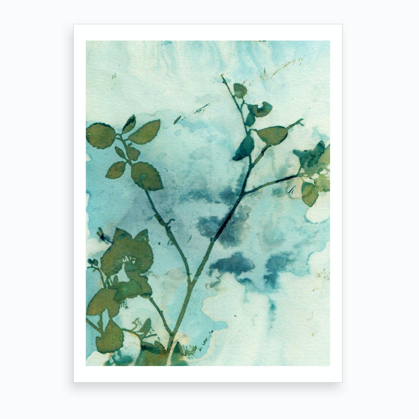 Floral Skies Art Print