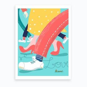 Love In Everyday Life Art Print