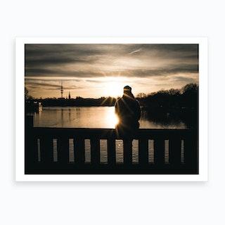 Sunset Lookout 2 Art Print