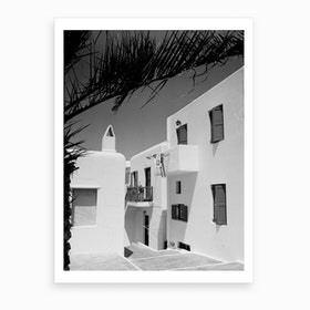 Greece And Their Homes Art Print