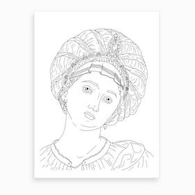 Palazzo Corsini In Rome Art Print