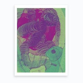 Deep Sleep Art Print
