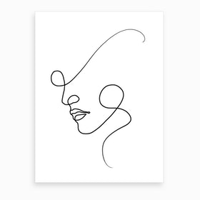 A Fine Line Art Print