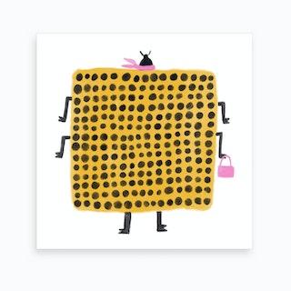 Power Spots Art Print