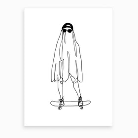 Stay Creepy Art Print