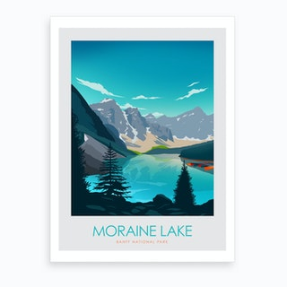 Moraine Lake Banff Art Print