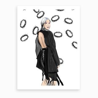 Cardi B Art Print