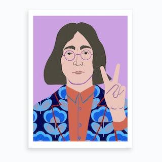 Lennon Art Print