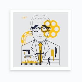 Scorsese Directors Cut Square Art Print