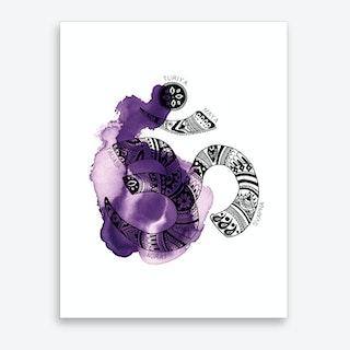 Yoga 02  Art Print