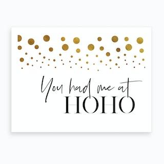 Hoho Art Print