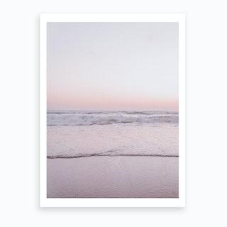 Pastel Beach III Art Print