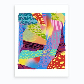 Abstract Colorful Art Print