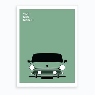 1970 Mini Mark Iii Art Print