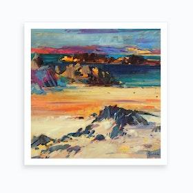 Eilean Rabach Art Print
