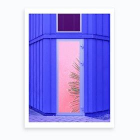 Pinkaboo Art Print