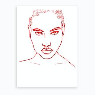 Headstrong Art Print